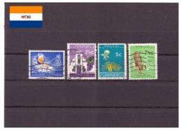 Afrique Du Sud 1961/1963 - Oblitéré - Industrie - Bâtiments - Fleurs - Agriculture - Michel Nr. 301-302 304-305 (rsa111) - Afrique Du Sud (1961-...)