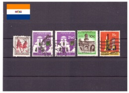 Afrique Du Sud 1963 - Oblitéré - Fleurs - Bâtiments - Industrie - Michel Nr. 316 319a 319b 322-323 (rsa117) - Afrique Du Sud (1961-...)