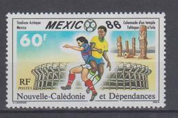 NEW CALEDONIA 1986 FOOTBALL WORLD CUP - Copa Mundial