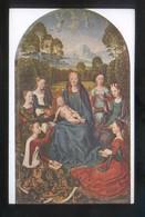 *Hans Memling - Mariage Mystique...* Musée Du Louvre Nº 5466. Nueva. - Pintura & Cuadros