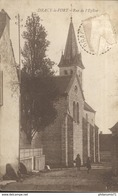 CPA  Dracy Le Fort - Rue De L'Eglise -  Circulée 1932 - Francia