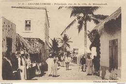 CPA Grande Comore - Principale Rue De Mitsamiouli - Comores