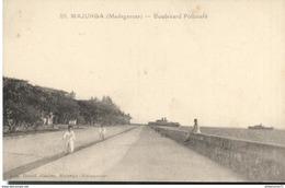 CPA  Madagascar - Majunga - Boulevard Poincaré - Circulée - Madagascar
