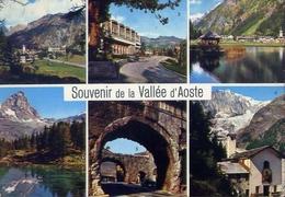 Souvenir De La Vallèe D'aoste - Formato Grande Viaggiata – E 9 - Italy