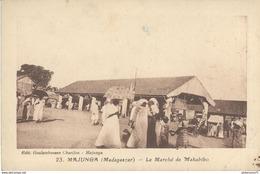 CPA  Madagascar - Majunga - Le Marché De Mahabibo -  Circulée - Madagascar