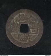 1 Sapèque  - Annam - Ere Tu-Duc 1848-1883 - Lec #1 ( Lot 3 ) - Colonies