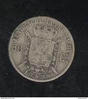 50 Centimes Belgique / Belgium 1899 - Koning Der Belgen TTB - 06. 50 Centimes