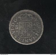1/2 Réal Espagne/Spain 1752  - TTB+ - Other