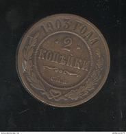 2 Kopecks Russie 1903 TTB+ - Rusland