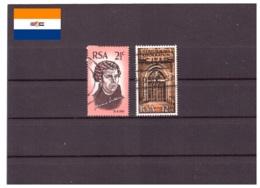 Afrique Du Sud 1967 - Oblitéré - Martin Luther - Eglises Et Cathédrales - Michel Nr. 359-360 Série Complète (rsa127) - Oblitérés