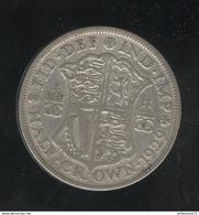 1 Demi Couronne / Half Crown - Grande Bretagne / United Kingdon 1929 TTB - 1902-1971 : Monnaies Post-Victoriennes