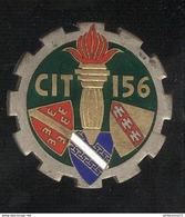 Insigne Centre D'Instruction Du Train 156 - Toul - Drago Paris - Armée De Terre