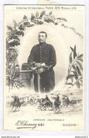 Photo Originale D'un Soldat Du 48ème Régiment D'Artillerie 11 X 16 Cm - Circa 1900 - Guerre, Militaire