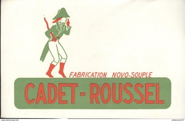 Buvard  Cadet Roussel - Fabrication Novo Souple - Bon état - Vloeipapier