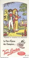 Buvard  Pain D'Epice Van Lynden - Le Pain D'Epice Des Champions - Très Bon état - Sucreries & Gâteaux