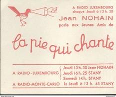 Buvard  La Pie Qui Chante - Jean Nohain - Très Bon état - Blotters