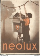 Buvard  Néolux -  Bon état - Elektrizität & Gas