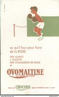 Buvard  Ovomaltine - Croquez Chocovo Tablettes D'Ovomaltine - Très Bon état - Chocolat