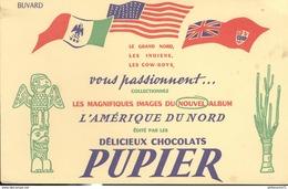 Buvard  Pupier - Délicieux Chocolats - Très Bon état - Chocolat
