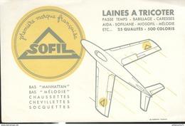 Buvard  Sofil - Laines à Tricoter - Première Marque Française - Bas Chaussettes - Très Bon état - Textilos & Vestidos
