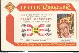 Buvard  Club Rouge Et Or - Groupe L'élite Dela Jeunesse - Gulla Chatelaine  - Bon état - Bambini