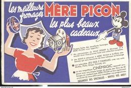 Buvard  Mère Picon - Les Meilleurs Fromages - Très Bon état - Leche