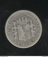 1 Peseta Espagne / Spain 1885 - TTB - Other