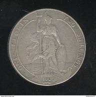 1 Florin 2 Schillings 190X Grande Bretagne / UK - TTB - 1902-1971 : Monnaies Post-Victoriennes