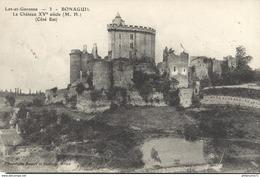 CPA  Bonaguil - Château XVè Siècle -  Circulée 1904 - Frankrijk