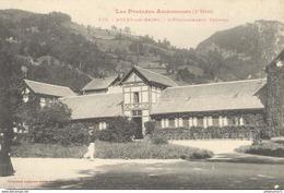 CPA  Aulus Les Bains - Etablissement Thermal -  Circulée - Otros Municipios
