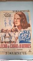 """Affiche Originale Du Film De Mario Mattoli """"Leçon De Chimie à 9 Heures """" 1941 Avec Alida Valli - Format 60 X 80 Cm - Afiches"""