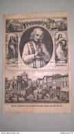 Lithographie 19ème - Monseigneur Vianney Curé D'Ars - Ed. Bernasconi Lyon - Litho Clappie Lyon - Lithographies