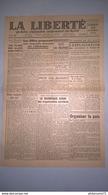 Journal La Liberté Du Sud-Est 20 Octobre 1944 -  N° 37 - Authentique - 1 Feuille Recto-Verso - Andere