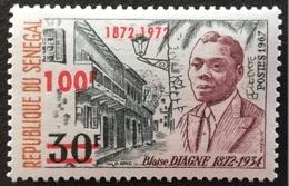 Senegal  1972 Blaise Diagne Surcharged - Senegal (1960-...)