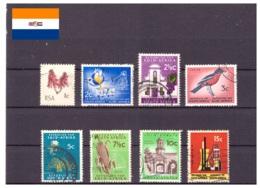 Afrique Du Sud 1969/1970 - Oblitéré - Fleurs - Bâtiments - Oiseaux - Industrie - Michel Nr. 391 393-398 400 (rsa137) - Afrique Du Sud (1961-...)