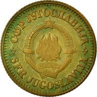 Monnaie, Yougoslavie, 10 Para, 1981, TB+, Laiton, KM:44 - Yougoslavie