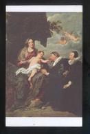 *Anton Van Dyck - La Vierge Aux Donateurs* Musée Du Louvre Nº 1208. Nueva. - Pintura & Cuadros