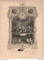 Diplôme De 1ère Communion Et Confirmation - 1915 - Saint Marcel Les Chalon - Diplômes & Bulletins Scolaires