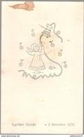 Menu De Baptème - 6 Novembre 1955 - Menus