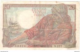 Billet 20 Francs Pécheur 29-1-1948 TTB - 1871-1952 Anciens Francs Circulés Au XXème