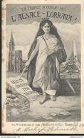 CPA Illustrée La France N'oublie Pas L'Alsace Lorraine - Circulée 1908 - Patriotiques