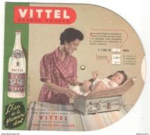 Disque Publicitaire Vittel - Surveillance De La Croissance D'un Enfant - Mensurations - Poids - Dentition - TBE - Autres