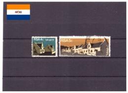 Afrique Du Sud 1974 - Oblitéré - Bâtiments - Michel Nr. 428-429 Série Complète (rsa147) - Afrique Du Sud (1961-...)