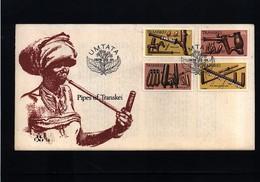 Transkei 1978 Pipes Of Transkei FDC - Transkei
