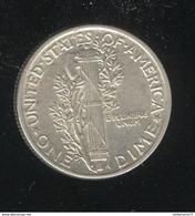 1 Dime Etats Unis / USA 1943 - TTB+ - 1916-1945: Mercury (Mercurio)