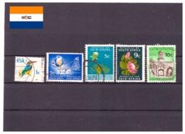 Afrique Du Sud 1973/1974 - Oblitéré - Oiseaux - Industrie - Fleurs - Bâtiments - Michel Nr. 430 432 434 436-437 (rsa148) - Afrique Du Sud (1961-...)