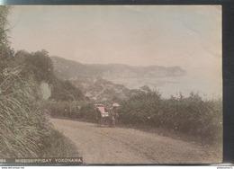 Photo Originale Albumine Colorisée - Japon / Japan - Mississippibay Yokohama -  Format 9 X 13,5 Cm - Circa 1880 - Photographs