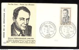 FDC France 1960 - Edmond Debeaumarché - 26/03/1960 - FDC