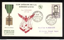 FDC France 1959 - Jean Cavaillès - 19/04/1958 - FDC