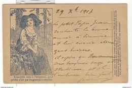 CPA Correspondance Des Armées De La République - Modèle Pour Les Troupes En Opérations - 1914-18